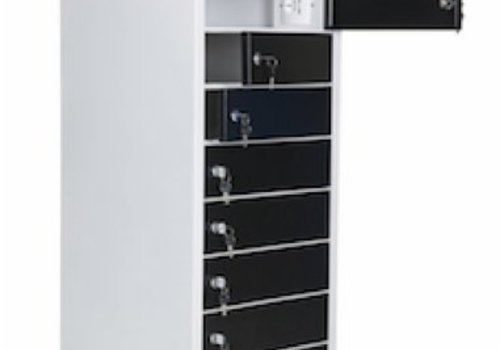 """Parotec-IT charge locker 10 compartments for Chromebooks/ Macbooks/ Notebooks/ tablets till and with 15,6"""""""