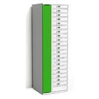 """thumb-Laadkast met 20 afzonderlijk afsluitbare vakken voor tablets en iPads tussen 9""""-11""""-5"""