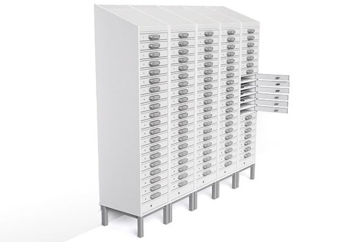 """Zioxi charge locker 20 compartments for Chromebooks/ Macbooks/ Notebooks/ tablets till 15,6"""""""