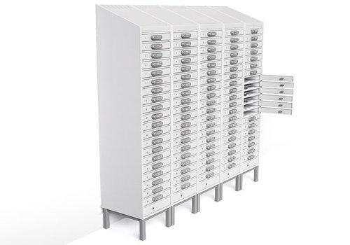 """Zioxi laad locker 20 vakken voor Chromebooks/ Macbooks/ Notebooks/ tablets tot en met 15,6"""""""