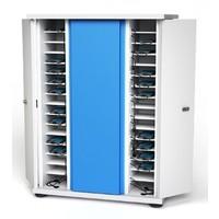 Afsluitbare oplaadkast voor 40 apparaten tot 7 inch; smartphone, iPod