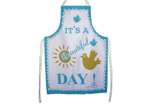 Marry Fellows - Pintuck Apron It's a beautiful day