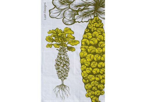 Lush Designs Brussels Sprouts Tea Towel