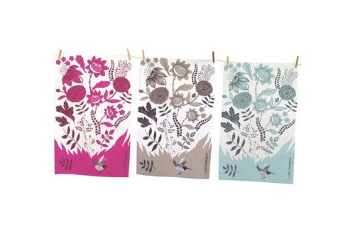 Lush Designs Bird Song Tea Towel