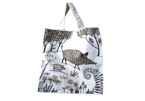Lush Designs Wild Boar Canvas bag