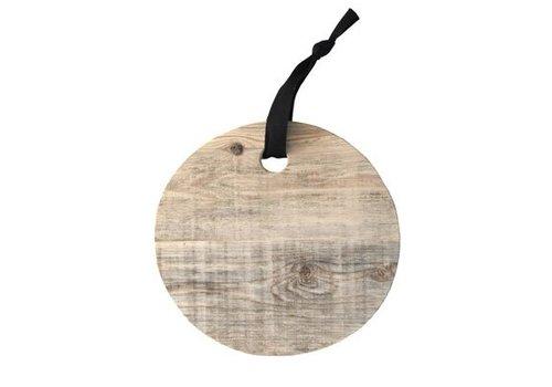 ONSHUS Round Wooden Shelf