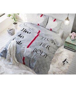 Sleeptime What Do You Love Dekbedovertrek Roze