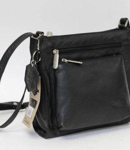 Bear Design Schoudertasje B3555 Basic Zwart