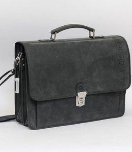 Bear Design Akten-/Schultasche Bram YN5458 Schwarz