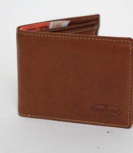 Bear Design Heren Portemonnee RO8480 Cognac