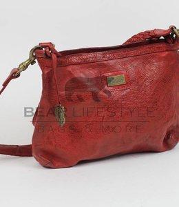 Bear Design Schultertasche GR4962 Rot