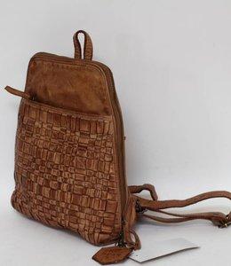 Bear Design Rucksack CL32684 Beige Woven