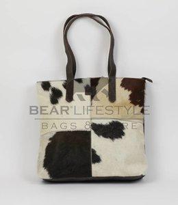 Bear Design Cow Shopper 'Linda' Groot Bruin HH32637