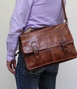 Bear Design Laptoptasche CL32844 Cognac