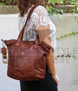 Bear Design Kleiner Shopper CL32509 Cognac