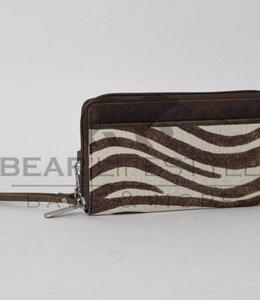 Bear Design Geldbörse / Clutch Zebra HH9165