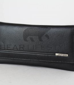 Bear Design Anti-Skim Portemonnaie QN14252 Schwarz