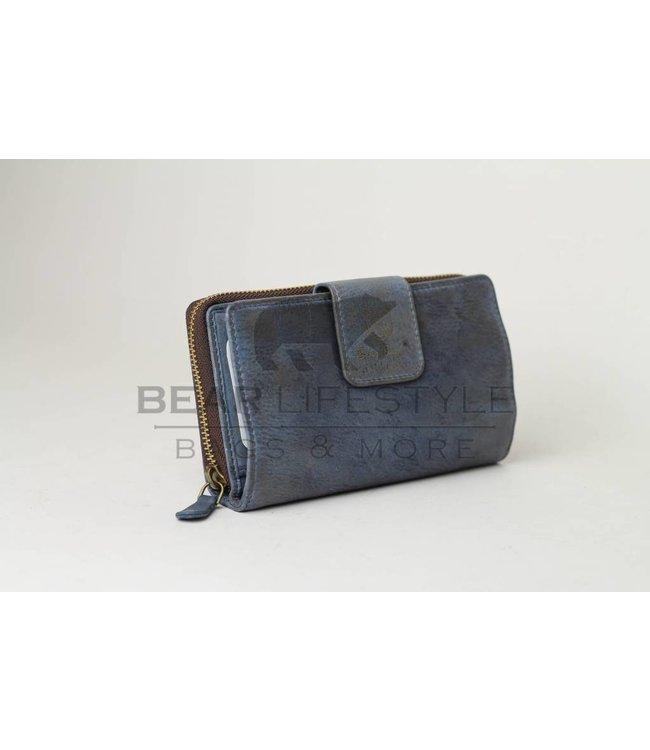 Bear Design Geldbörse GR9860 Blau