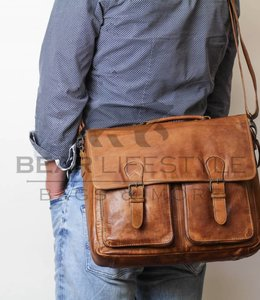 Bear Design Laptoptasche CL32842 Cognac