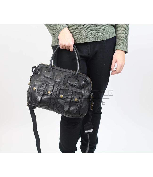 Bear Design Umhänge- & Handtasche GR7005 Schwarz