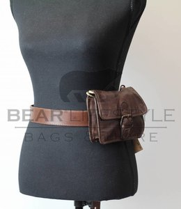 Bear Design Schouder/Heuptasje CL35064 Bruin