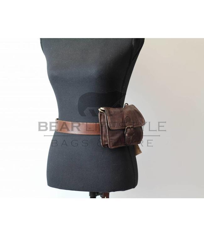 Bear Design Hüfttasche/Schultertasche CL35064 Braun