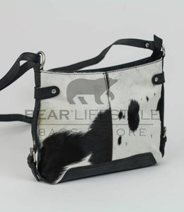 Bear Design Schultertasche 'Petra' HD4099 Cow Schwarz