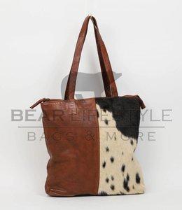 Bear Design Shopper Cow/Lavato CL35104 Cognac