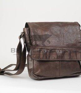 Bear Design Schoudertas met flap CL32961 Bruin
