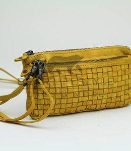 Bear Design Clutch / Geldbörse Tasche CL13997 Gelb