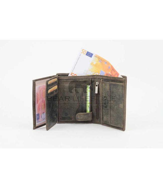 Bear Design Geldbörse Herren HD7252 Anti-skim