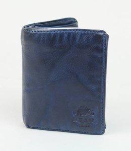 Bear Design Billfold Hoog - Blauw CL7252