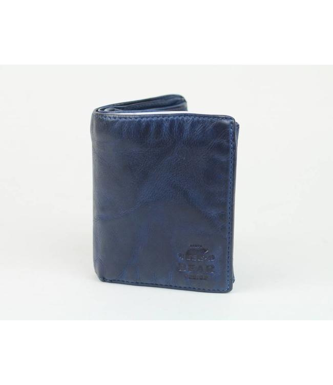 Bear Design Geldbörse / Brieftasche CL7252 Blau