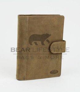 Bear Design Leder Kalender HD8338 Khaki | L
