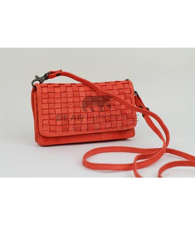Bear Design Umhängetasche / Geldbörse CL13995 Peach