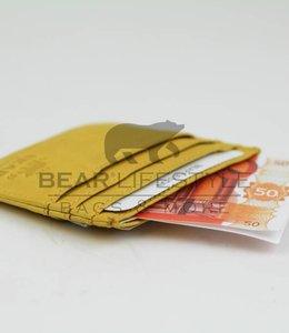 Bear Design Visitenkarten Etuis - CL14617 Gelb