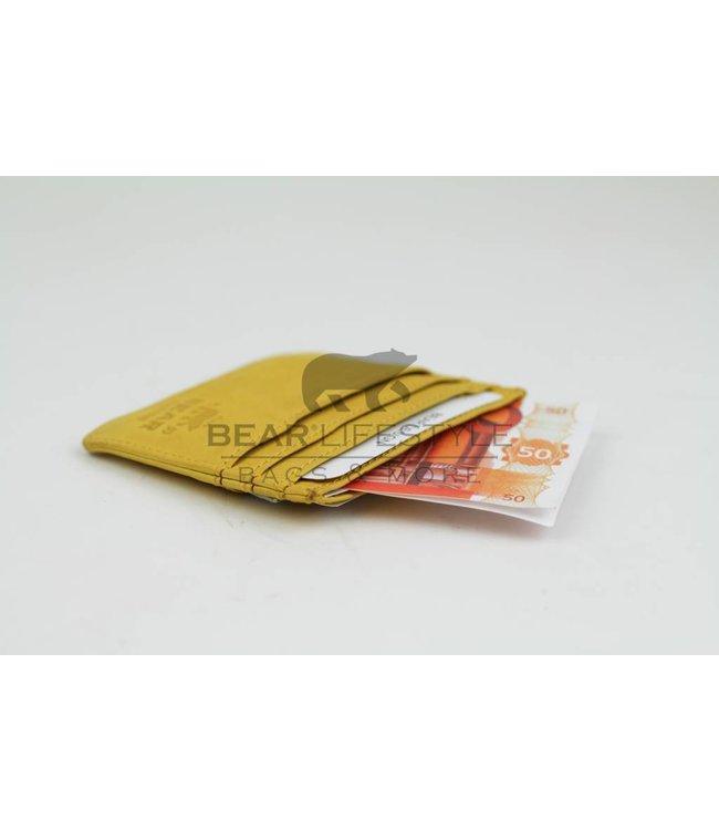 Bear Design Kartenetui CL14617 Gelb