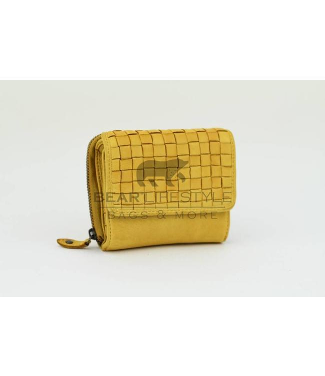 Geldbörse Reißverschluss 'Betty' - CL14616 Gelb
