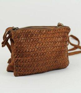 Bear Design Kleine Tasche GR5903 - Cognac