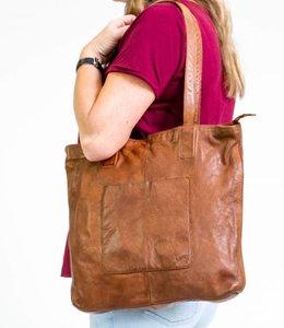 Bear Design Shopper Cognac CL35010 Lavato