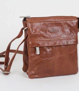42ca00629563c Bear Design Schultertasche Ellen RO6000 Cognac