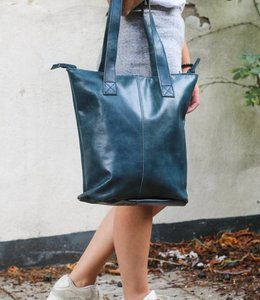 Bear Design Shopper Blauw CL2087