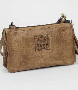 Bear Design Portemonnee/tasje Taupe CP4887