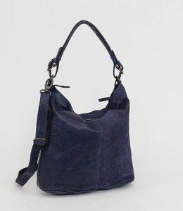 Bear Design Schoudertas 'Tess' Suede - CL35265 Blauw