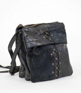 Bear Design Schultertasche Ellen Lavato/Suede CL35277 Schwarz