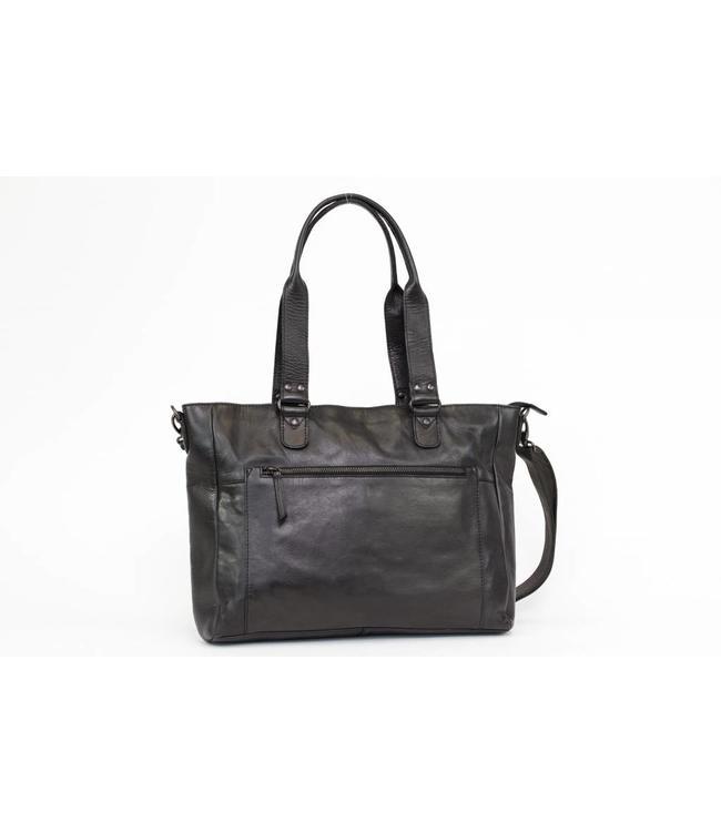 Bear Design CL35218 Schwarz Schulter-/Handtasche 'Pia'