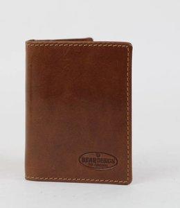 Bear Design Copy of Pasjesmap/kleine portemonnee RO9171 Zwart