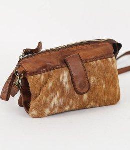 Bear Design Portemonnee/Tasje Cow Grizzly -  Cognac GR6171