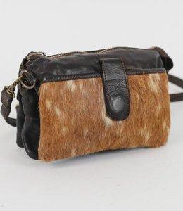 Bear Design Portemonnee/Tasje Cow Grizzly - Zwart GR6171