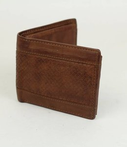 Bear Design Billfold laag - Cognac GR11053